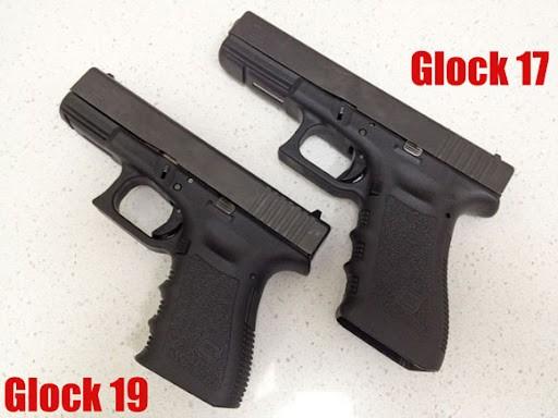 Glock 17 vs Clock 19