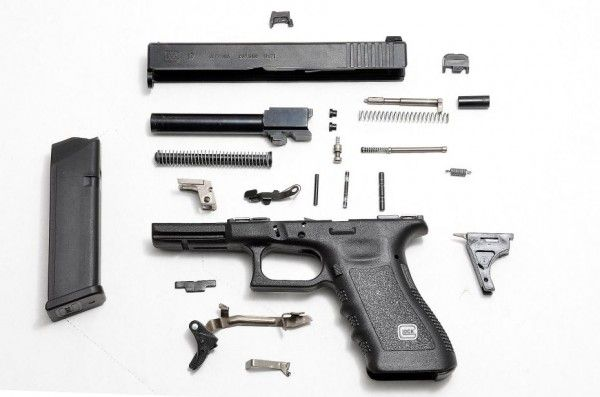 how to take apart a glock